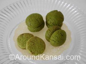 ビチェリン 抹茶バーチ・ディ・ダーマと枝豆クッキー