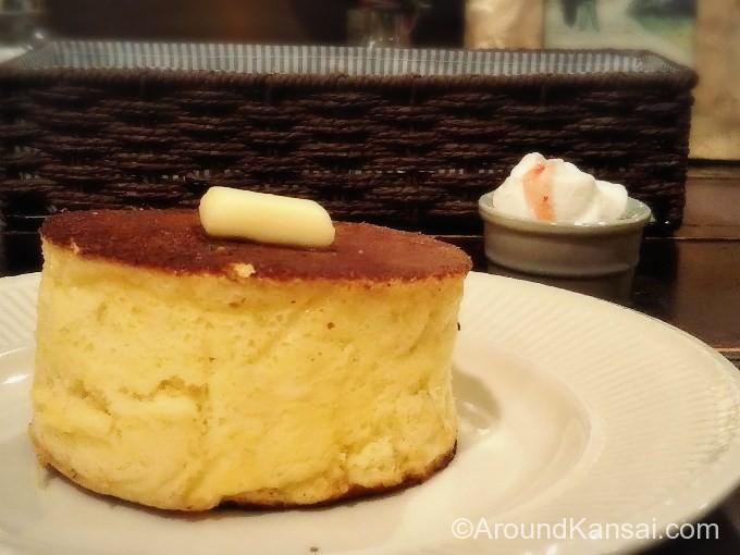 幻のホットケーキはこの厚み!