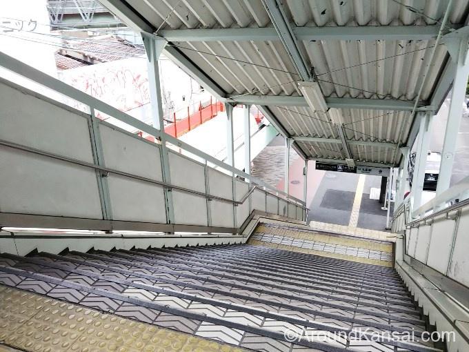 階段をおります