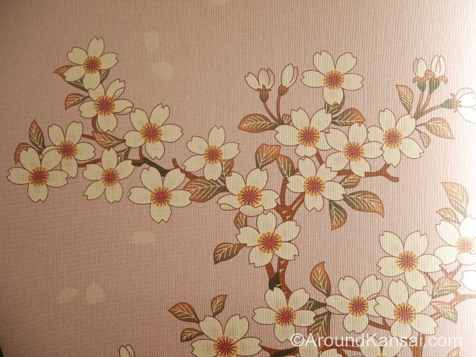 3号車(桜)の装飾
