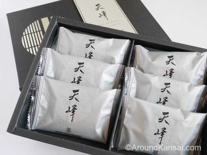 抹茶クリームサンドクッキー「天峰」
