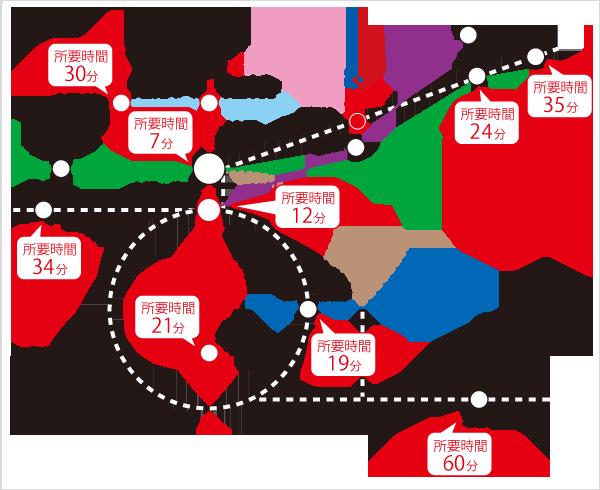 """新しい国循までの電車でのアクセス(出典:<a href=""""http://www.ncvc.go.jp/special/outline/access/"""" rel=""""noopener"""" target=""""_blank"""">国循</a>)"""