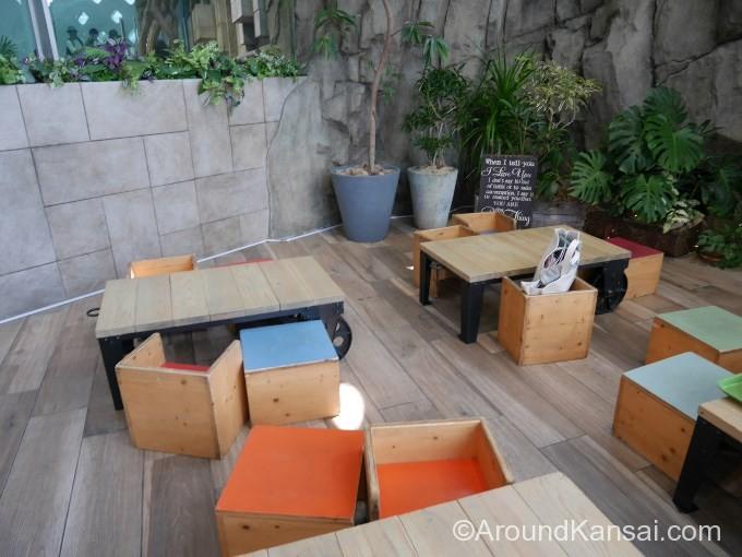 ピクニックカフェのキッズスペース