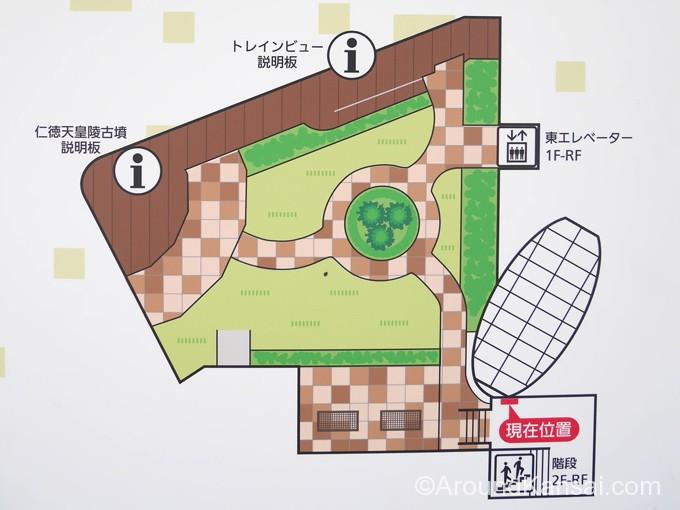みくにん広場の案内図