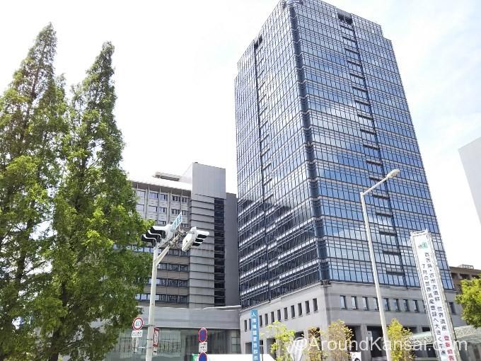 堺市役所の21階に展望ロビーがあります