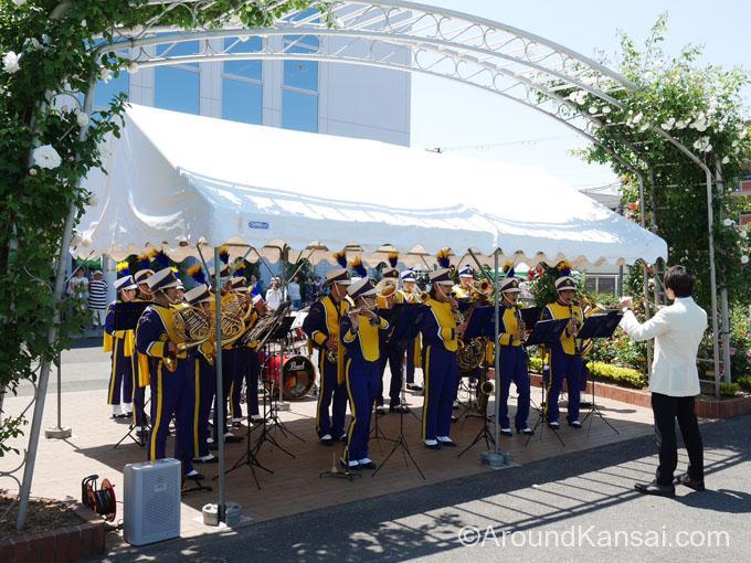 大阪学院大学吹奏楽部の演奏