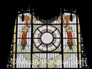 大阪中央公会堂・特別室のステンドグラス