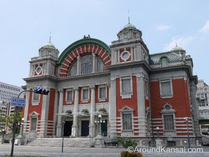 大阪中央公会堂の外観