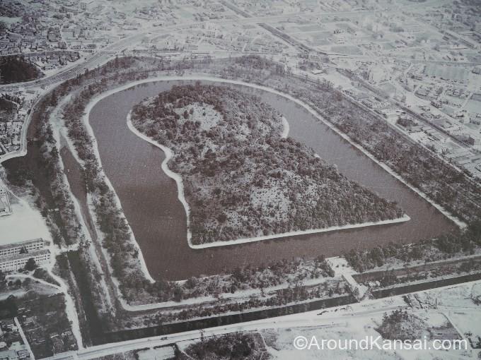 1973年3月の空撮写真