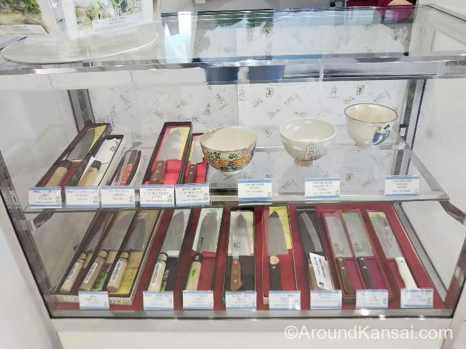 堺には刃物メーカーがたくさんあります