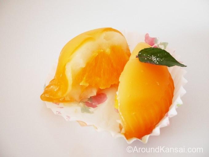 フルーツ餅・オレンジ