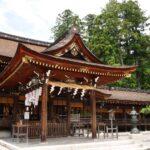 多賀大社の拝殿