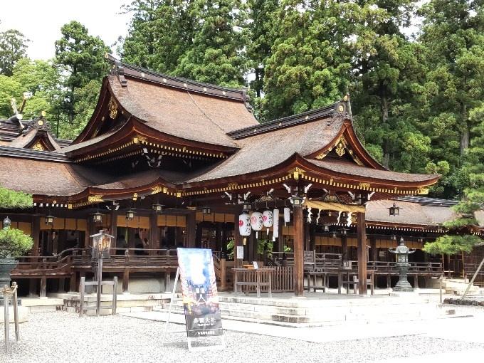 多賀大社 拝殿