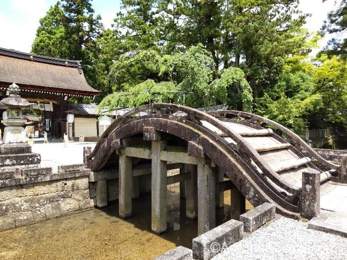 秀吉とゆかりが深く、太閤橋と呼ばれています