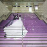 阪急宝塚駅の階段