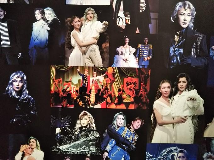 『エリザベート』歴代の舞台写真パネル