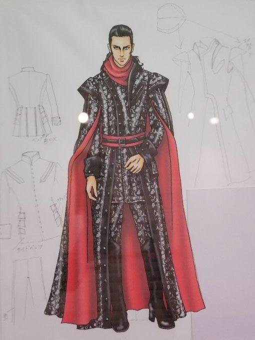 コンデュルメルの衣装デザイン