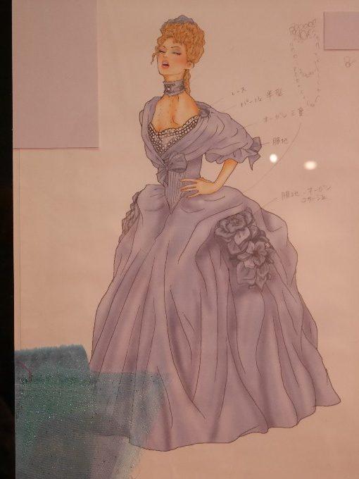 ベアトリーチェの衣装デザイン