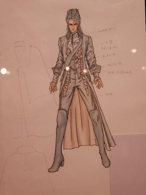 カサノヴァの衣装デザイン