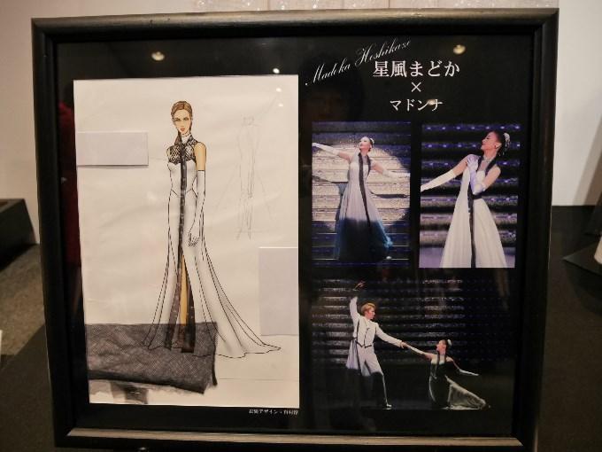 マドンナの衣装デザイン画