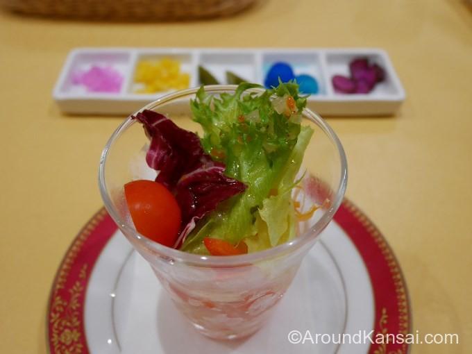 サラダと薬味
