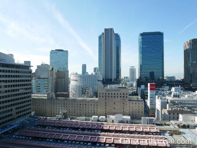 プレミアムマルシェ大阪からの眺め