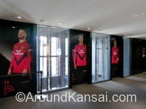 セレッソなエレベーターホール